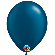 "Pearl Midnight Blue 5 inch Balloons - Qualatex 5"" Balloons 100pcs"